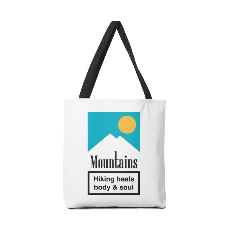 Mountains Accessories Bag by aparaat's artist shop