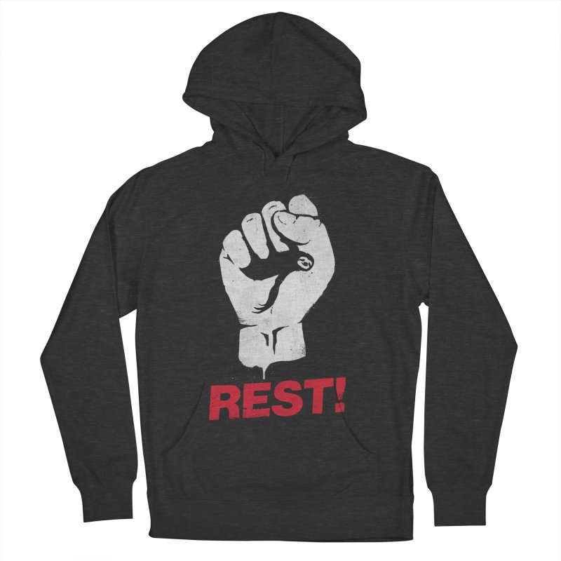 Rest! Women's Pullover Hoody by aparaat's artist shop