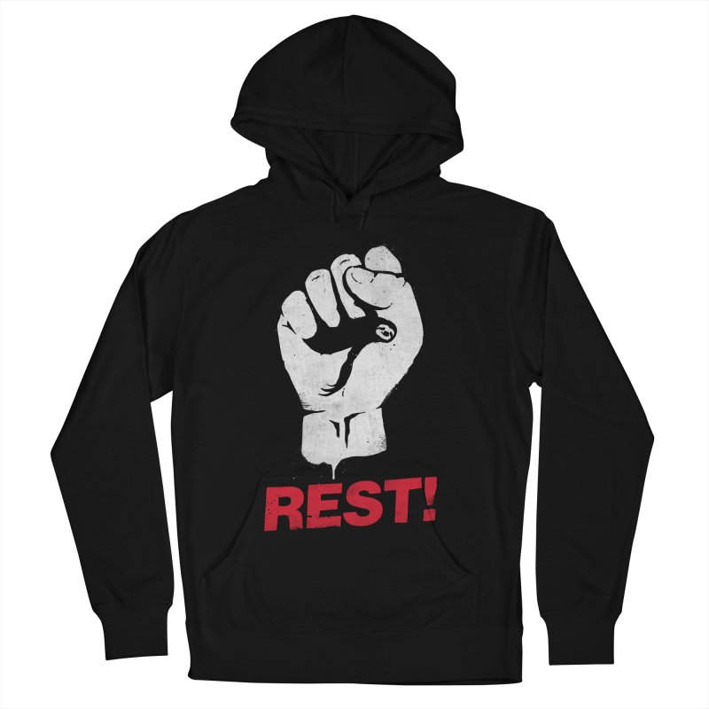 Rest! Women's French Terry Pullover Hoody by aparaat's artist shop