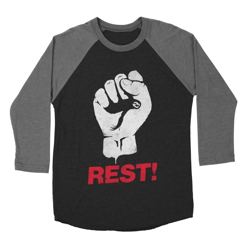 Rest! Men's Baseball Triblend Longsleeve T-Shirt by aparaat's artist shop