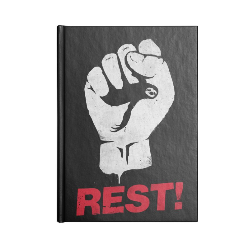 Rest! Accessories Notebook by aparaat's artist shop