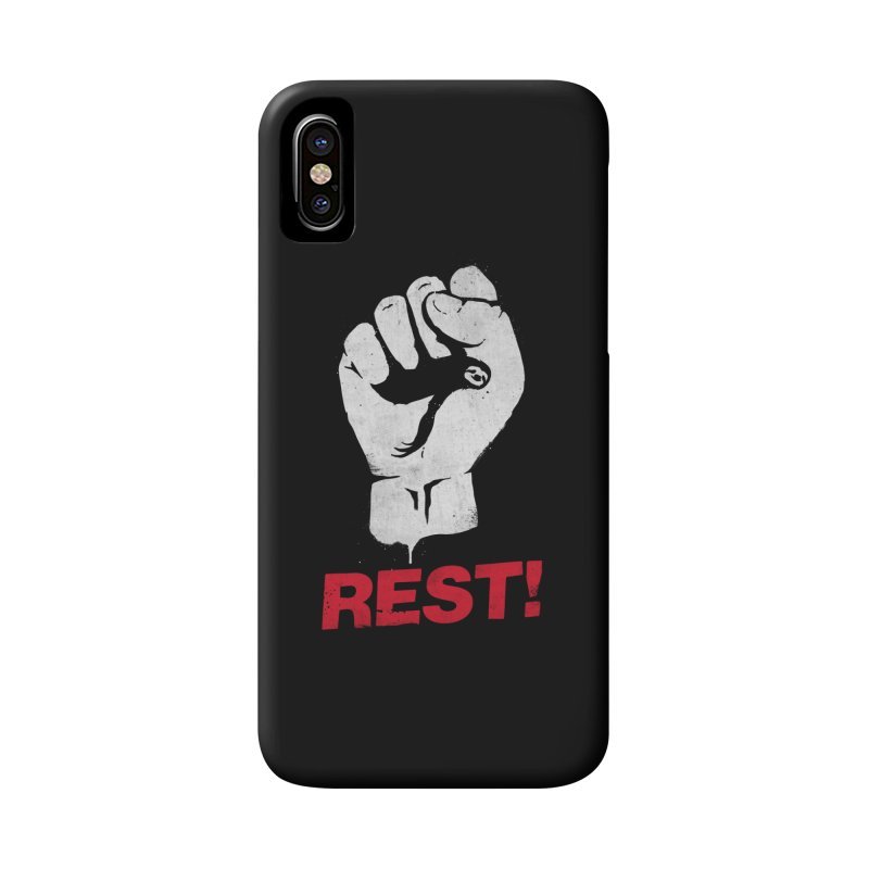 Rest! Accessories Phone Case by aparaat's artist shop