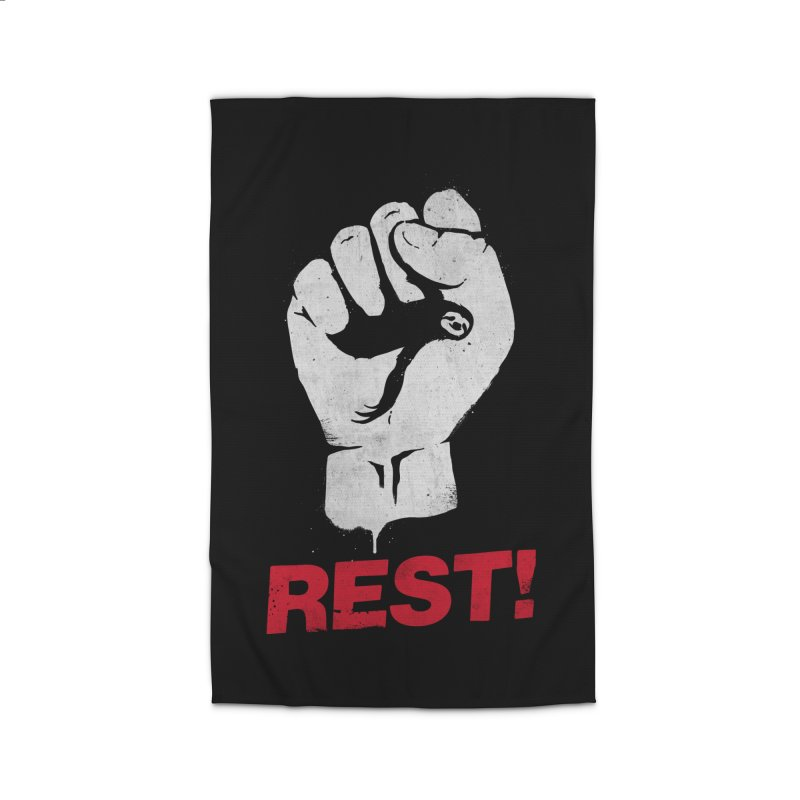 Rest! Home Rug by aparaat's artist shop