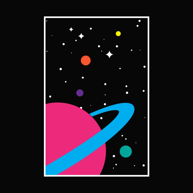 Space Is a Happy Place by aparaat's artist shop