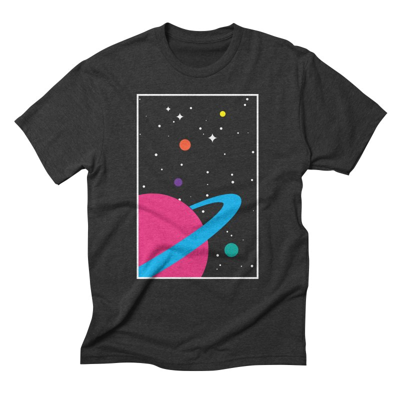 Space Is a Happy Place Men's  by aparaat's artist shop