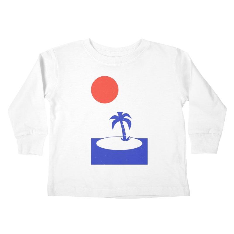 Font Memories Kids Toddler Longsleeve T-Shirt by aparaat's artist shop