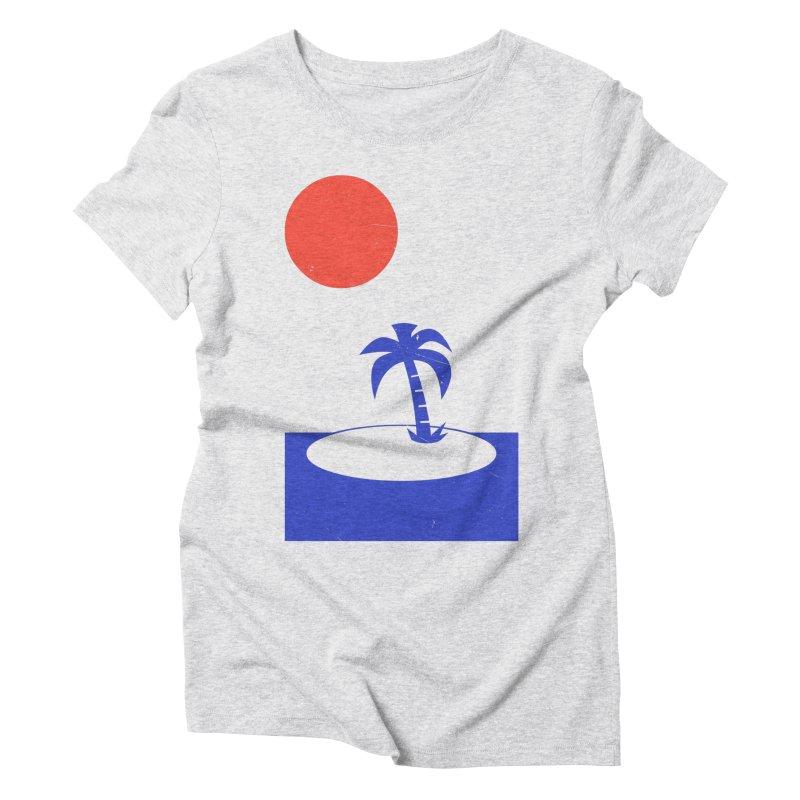 Font Memories Women's Triblend T-Shirt by aparaat's artist shop