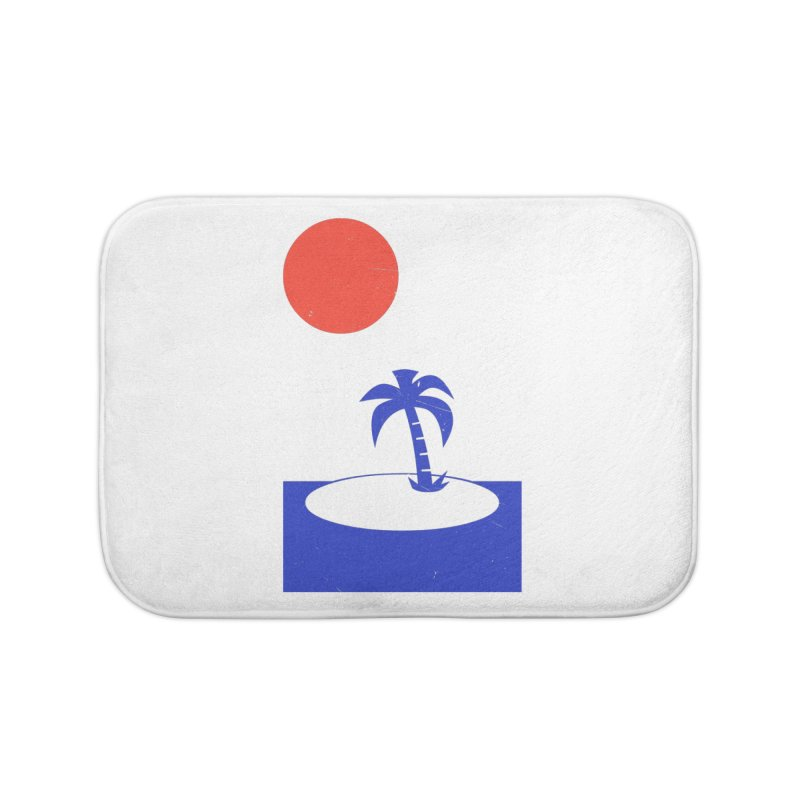 Font Memories Home Bath Mat by aparaat's artist shop