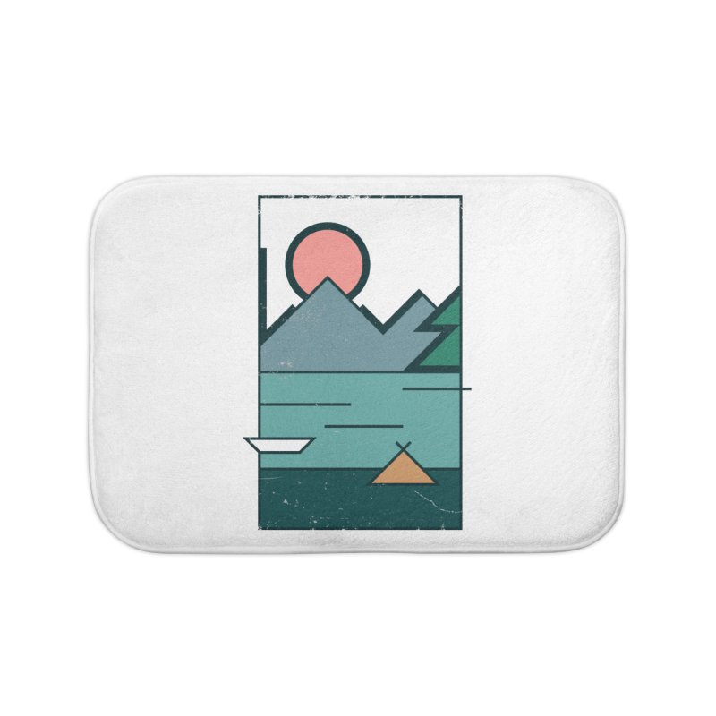 Love Home Bath Mat by aparaat's artist shop