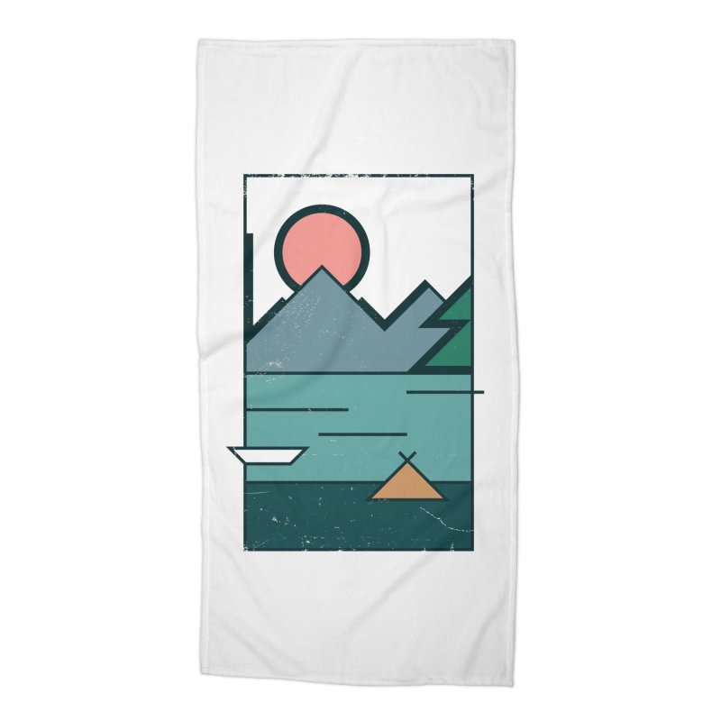 Love Accessories Beach Towel by aparaat's artist shop