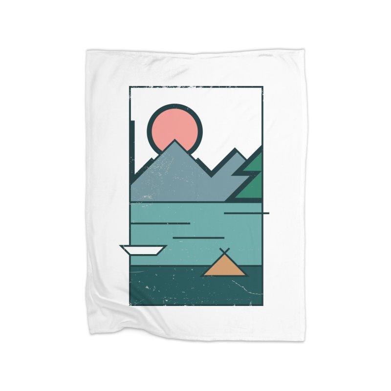 Love Home Blanket by aparaat's artist shop