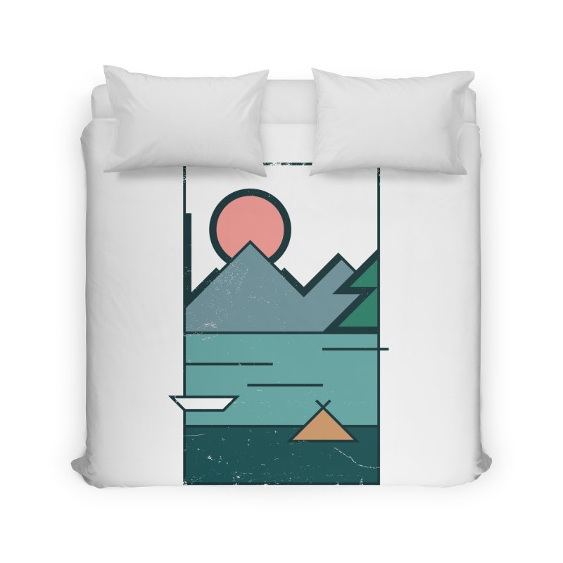 Love Home Duvet by aparaat's artist shop