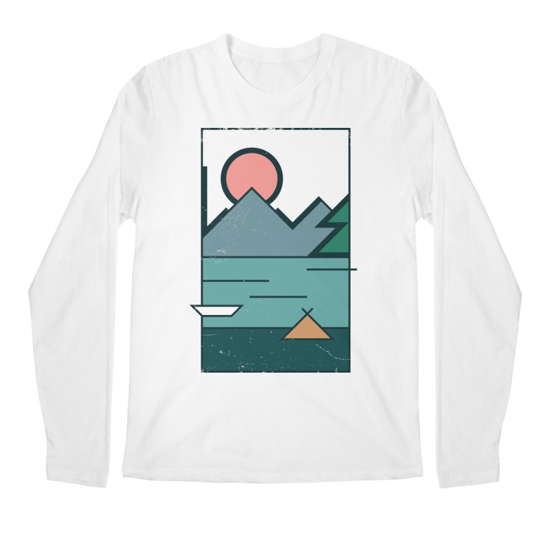 Love Men's Regular Longsleeve T-Shirt by aparaat's artist shop