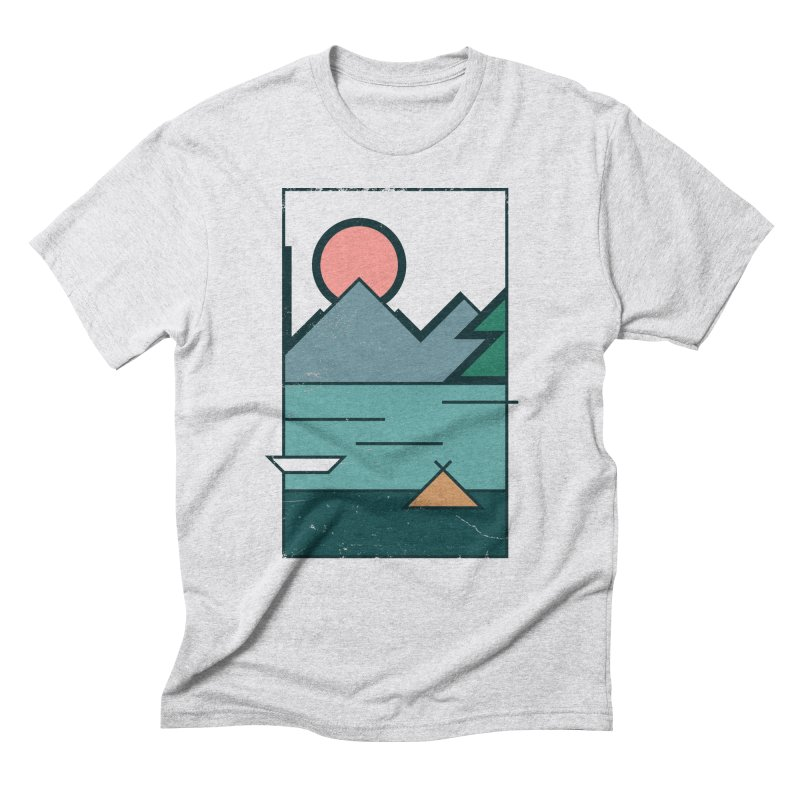 Love Men's Triblend T-Shirt by aparaat's artist shop