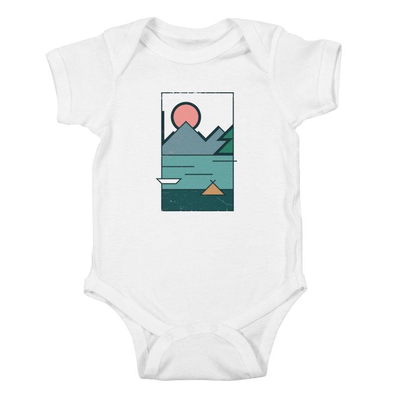 Love Kids Baby Bodysuit by aparaat's artist shop