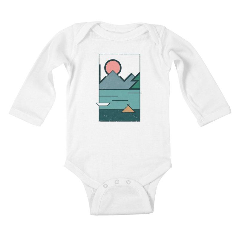 Love Kids Baby Longsleeve Bodysuit by aparaat's artist shop