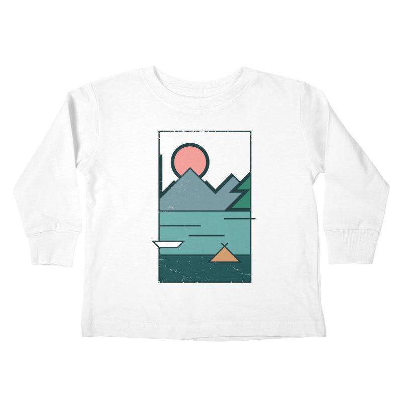 Love Kids Toddler Longsleeve T-Shirt by aparaat's artist shop