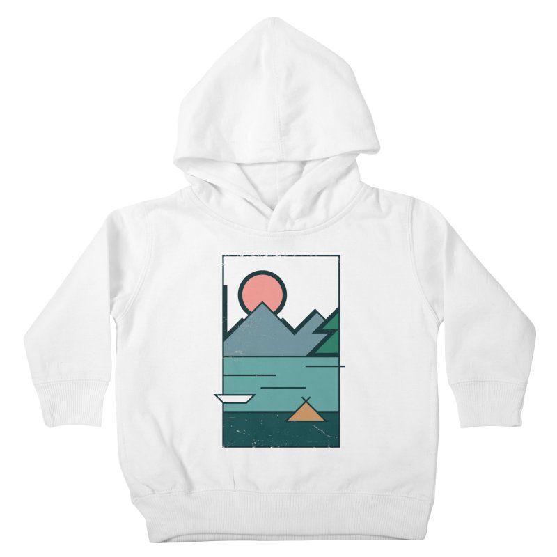 Love Kids Toddler Pullover Hoody by aparaat's artist shop