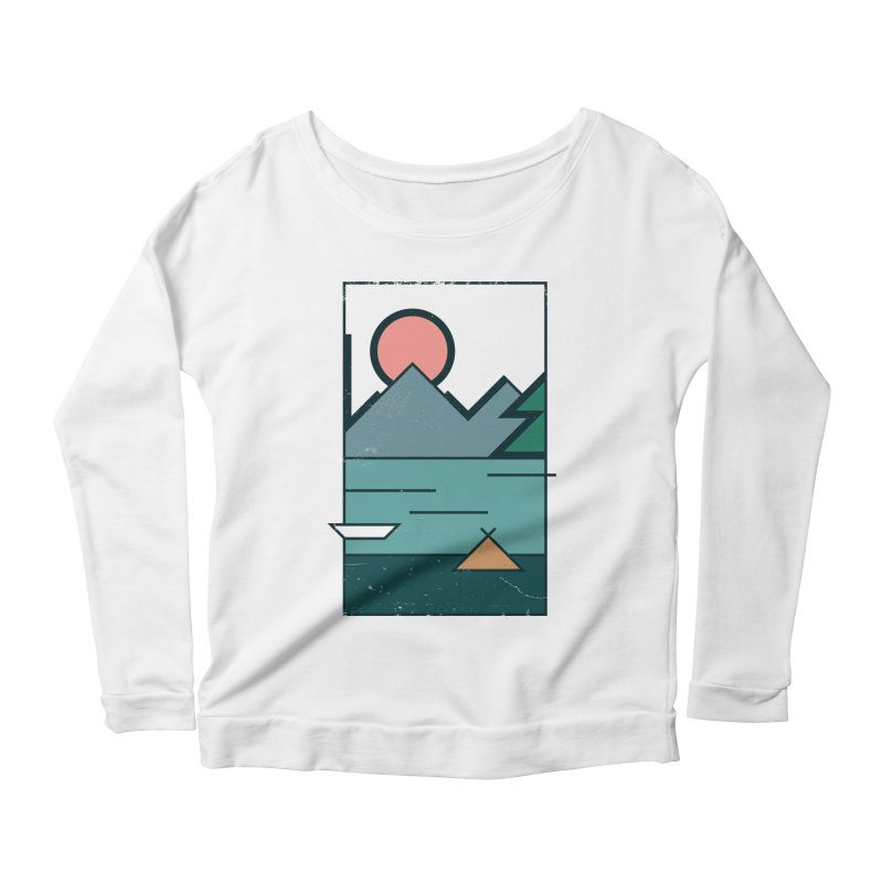 Love Women's Longsleeve Scoopneck  by aparaat's artist shop