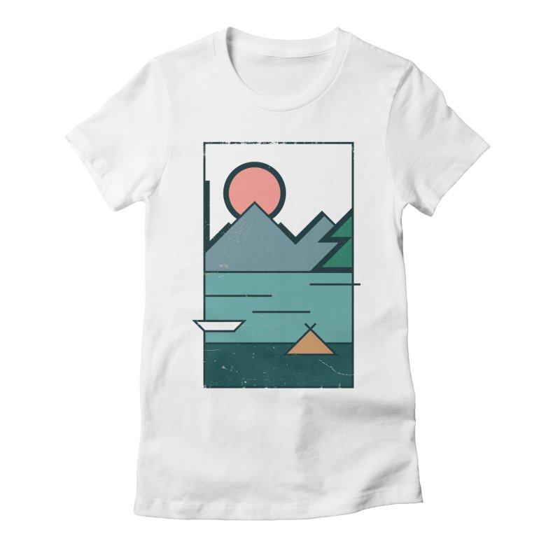 Love Women's Fitted T-Shirt by aparaat's artist shop