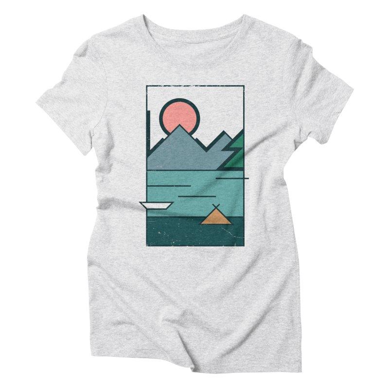 Love Women's Triblend T-Shirt by aparaat's artist shop