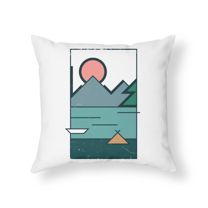 Love Home Throw Pillow by aparaat's artist shop