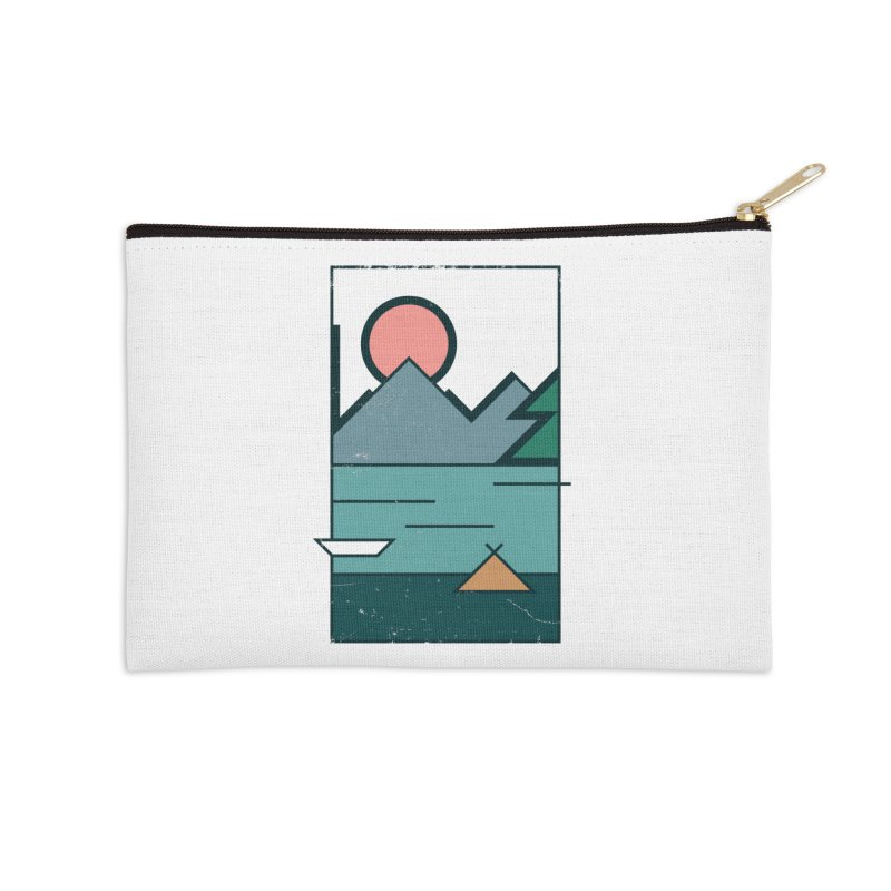 Love Accessories Zip Pouch by aparaat's artist shop