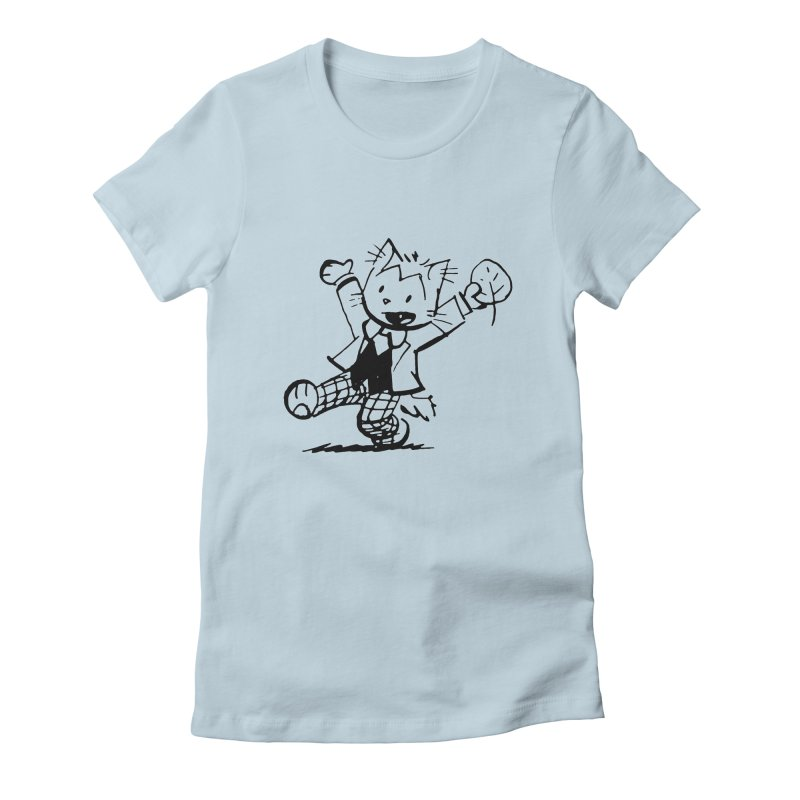 Pip! Women's Fitted T-Shirt by Ape Lad's Artist Shop