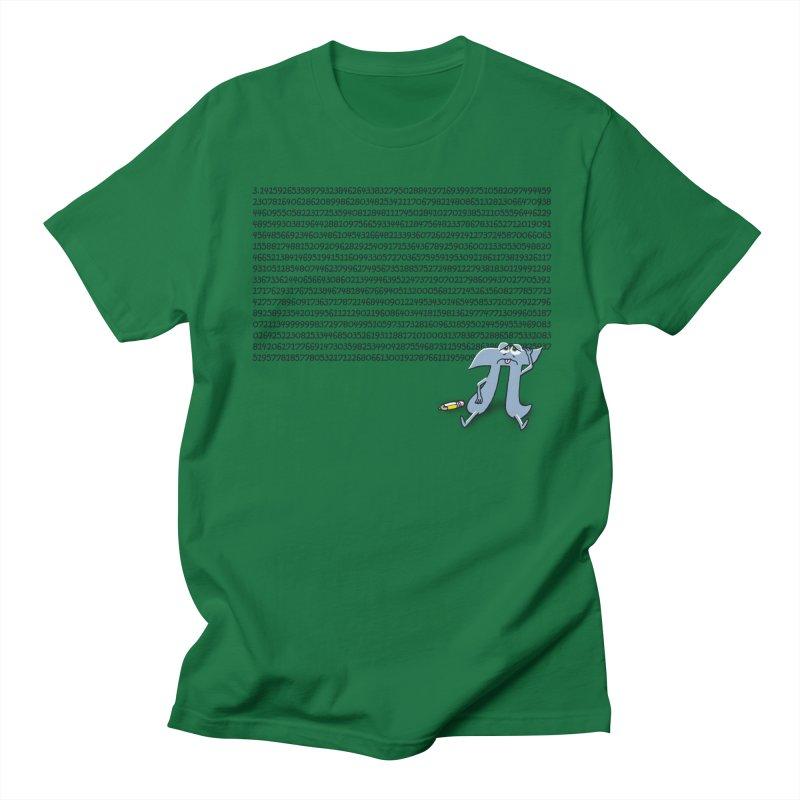 Call me Pi for short Men's T-shirt by Ape Lad's Artist Shop