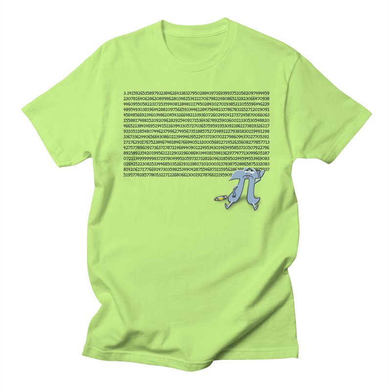Call me Pi for short Men's T-shirt by Ape Lad's Artist Shop