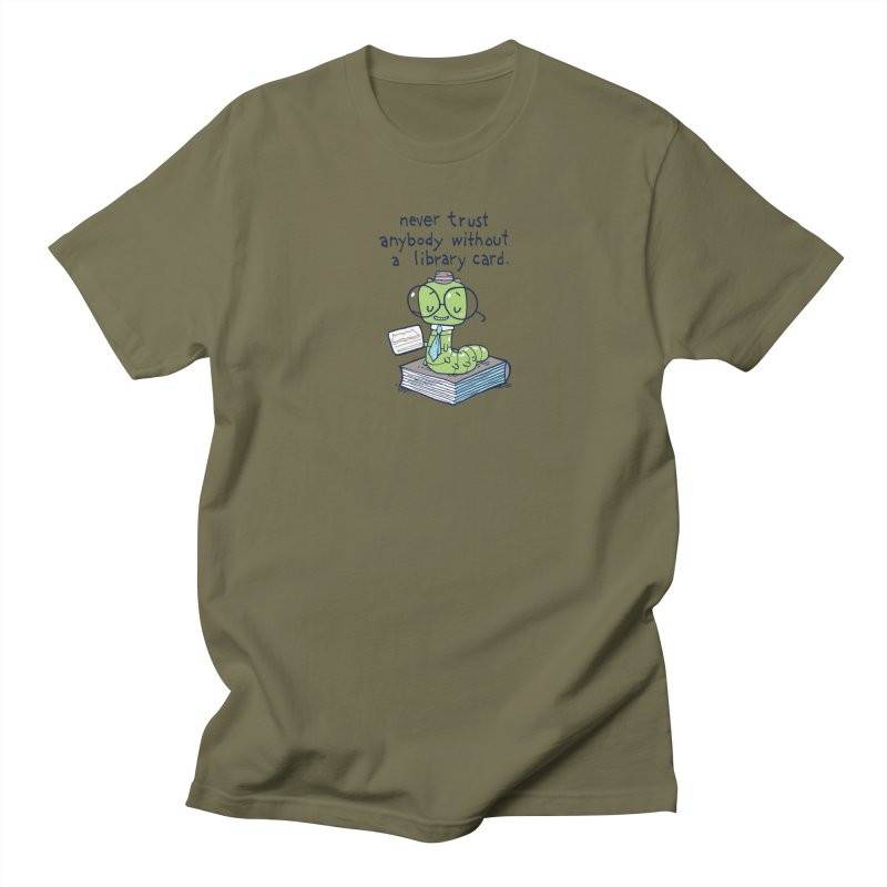 bookworm Men's T-shirt by Ape Lad's Artist Shop
