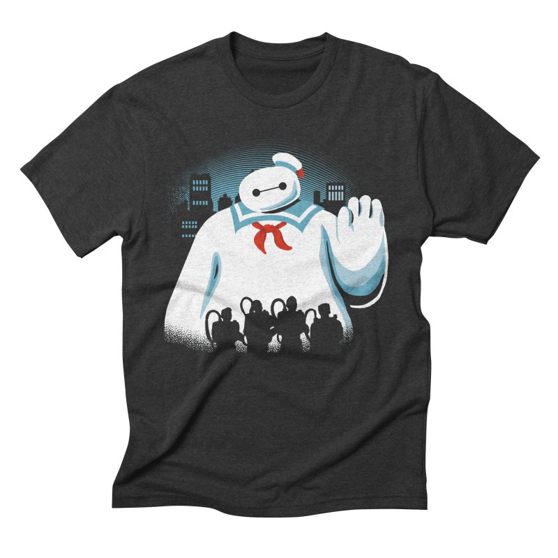 Baypuft Men's Triblend T-shirt by Apocalyptee