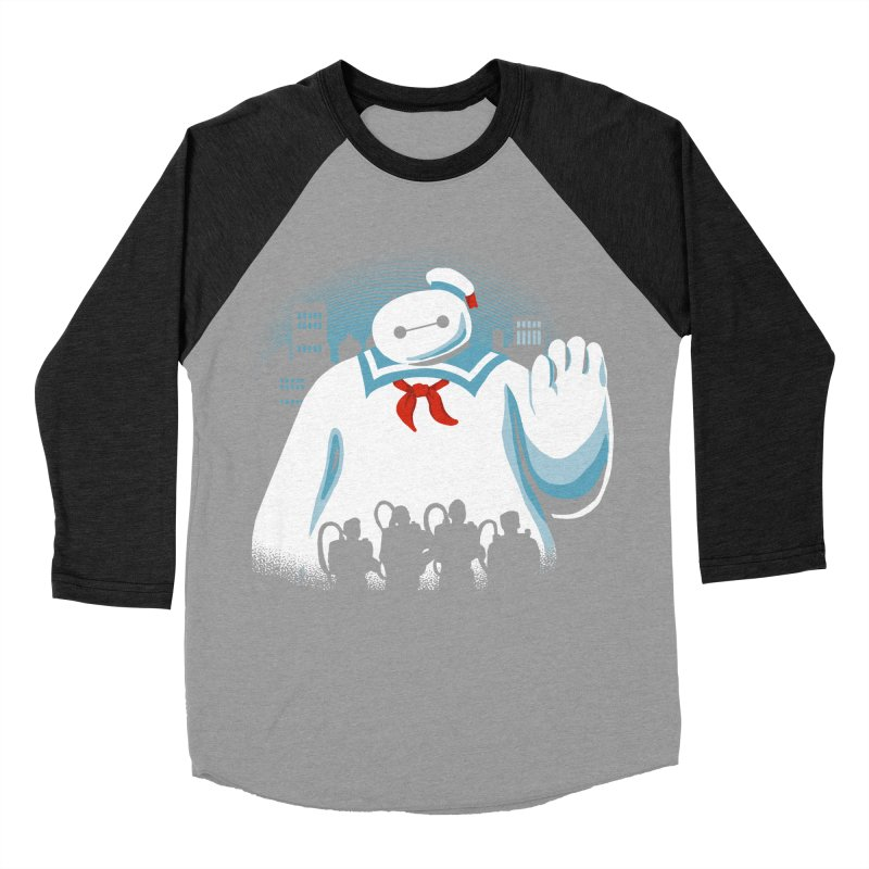 Baypuft Men's Baseball Triblend T-Shirt by Apocalyptee