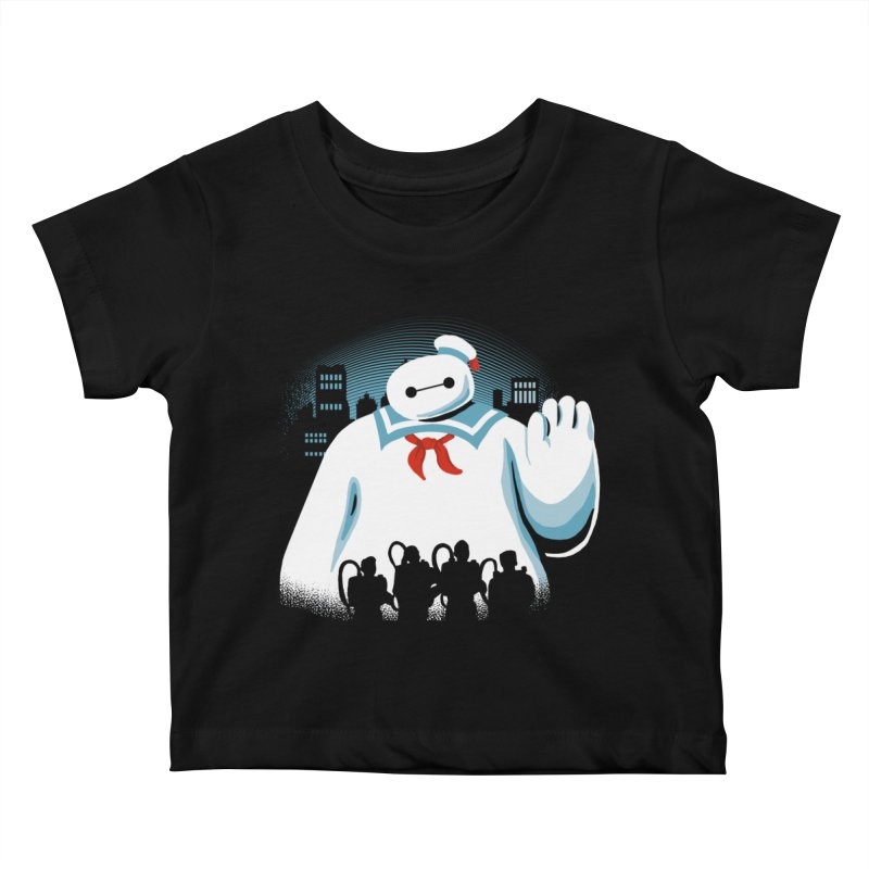 Baypuft Kids Baby T-Shirt by Apocalyptee