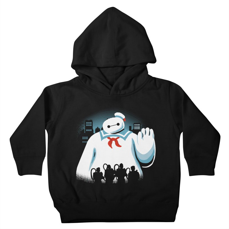 Baypuft Kids Toddler Pullover Hoody by Apocalyptee