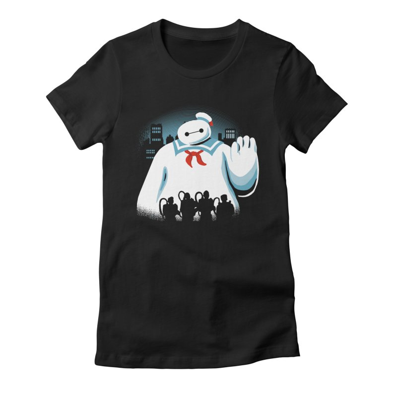 Baypuft Women's Fitted T-Shirt by Apocalyptee