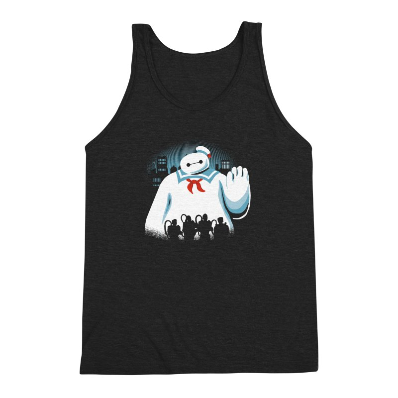 Baypuft Men's Triblend Tank by Apocalyptee