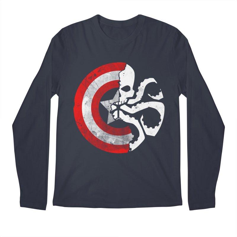 Captain Hydra Men's Longsleeve T-Shirt by Apocalyptee