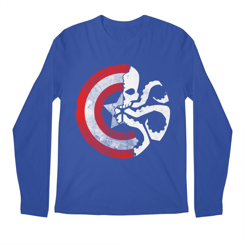 Captain Hydra Men's Longsleeve T-Shirt by Apocalyptee