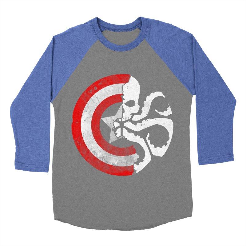 Captain Hydra Men's Baseball Triblend T-Shirt by Apocalyptee