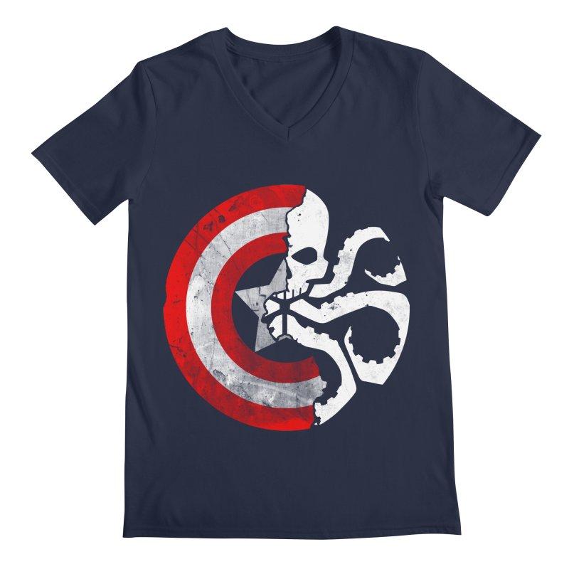 Captain Hydra Men's V-Neck by Apocalyptee