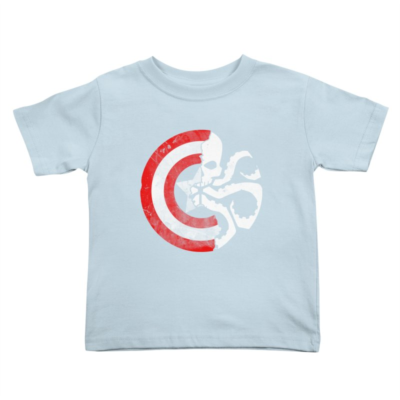 Captain Hydra Kids Toddler T-Shirt by Apocalyptee