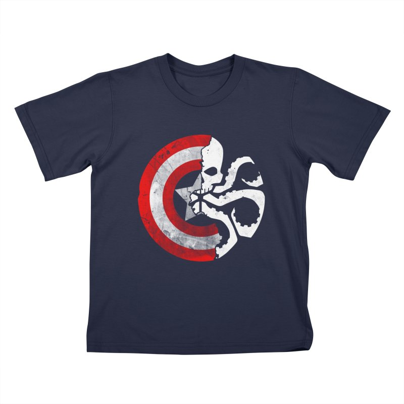 Captain Hydra Kids T-shirt by Apocalyptee