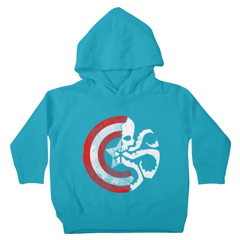 Captain Hydra Kids Toddler Pullover Hoody by Apocalyptee