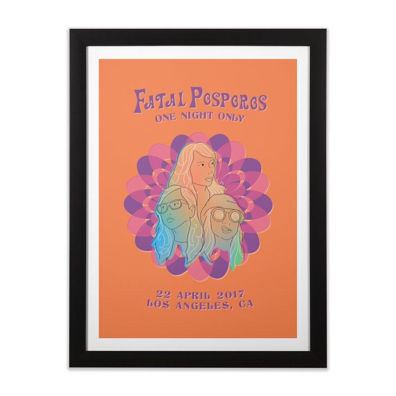 Fatal Posporos 2017 Home Framed Fine Art Print by Apol Sta Maria