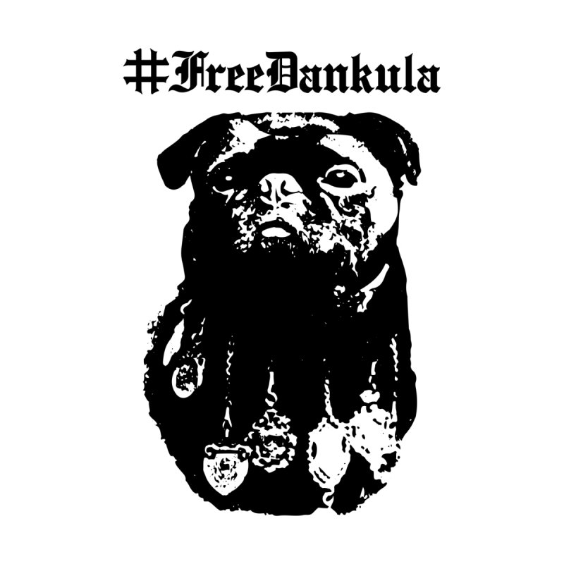 Free Dankula Royal Pug Gothic (Black) Men's T-Shirt by Applesawus