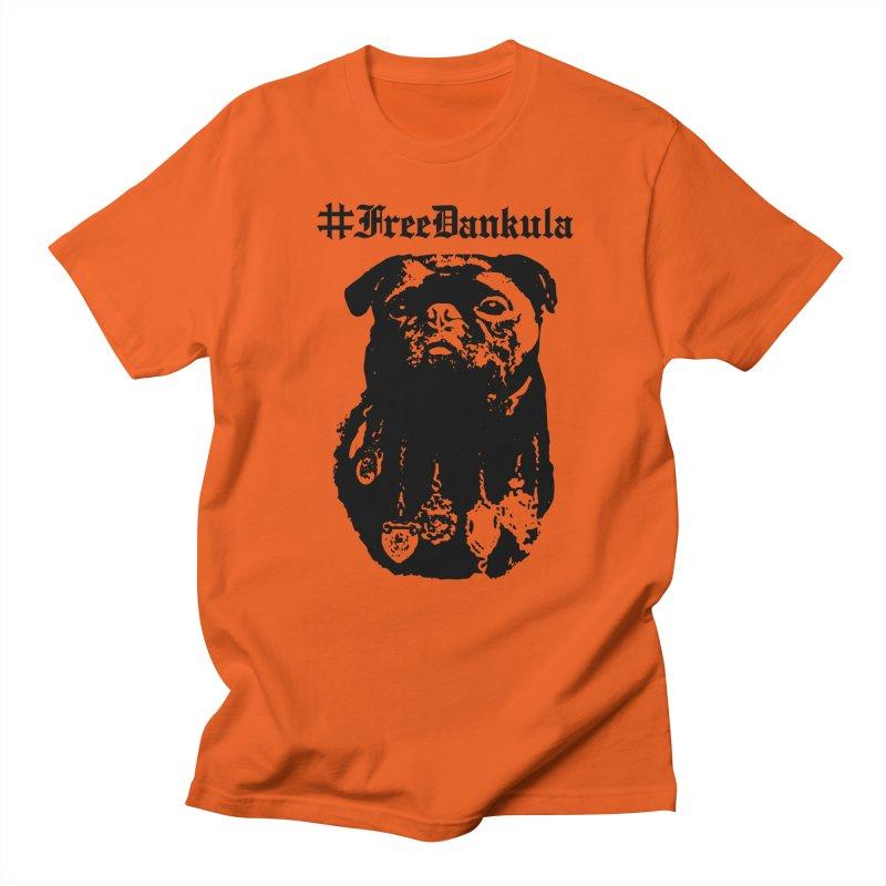 Free Dankula Royal Pug Gothic (Black) Men's T-Shirt by Applesawus