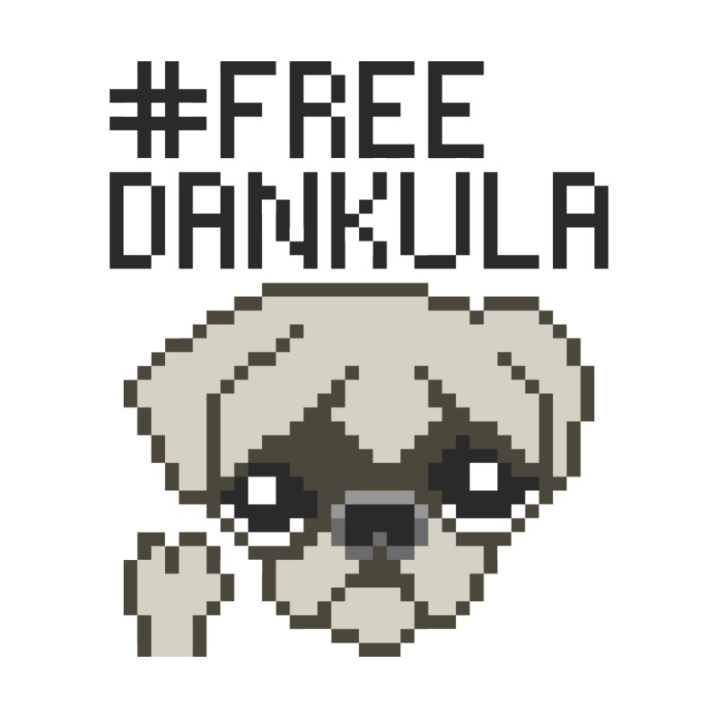 Free Dankula Pixel Art Pug   by Applesawus