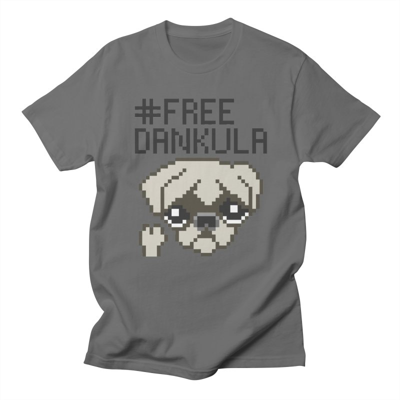 Free Dankula Pixel Art Pug Men's T-Shirt by Applesawus