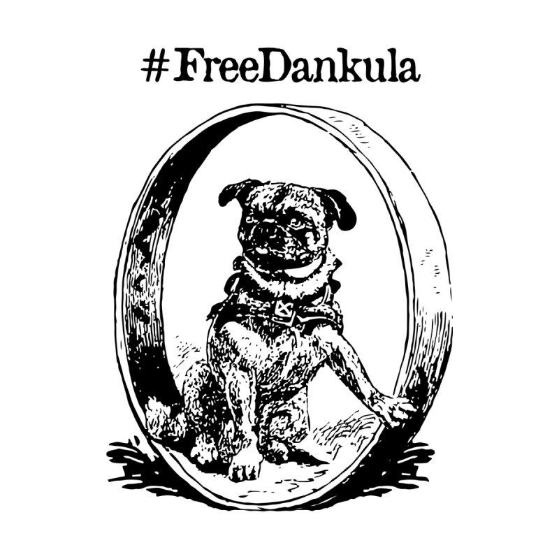 Free Dankula Pugscout (Black) Men's T-Shirt by Applesawus